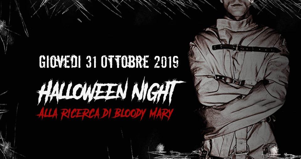 ESCOPAZZO HALLOWEEN NIGHT | ALLA RICERCA DI BLOODY MARY
